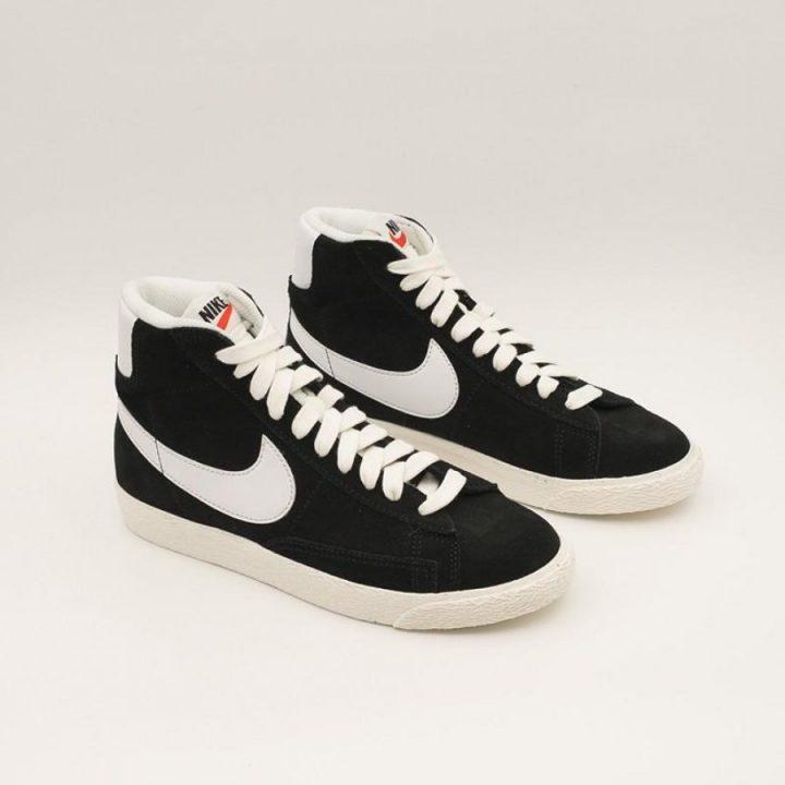 Nike Blazer MID fekete utcai cipő