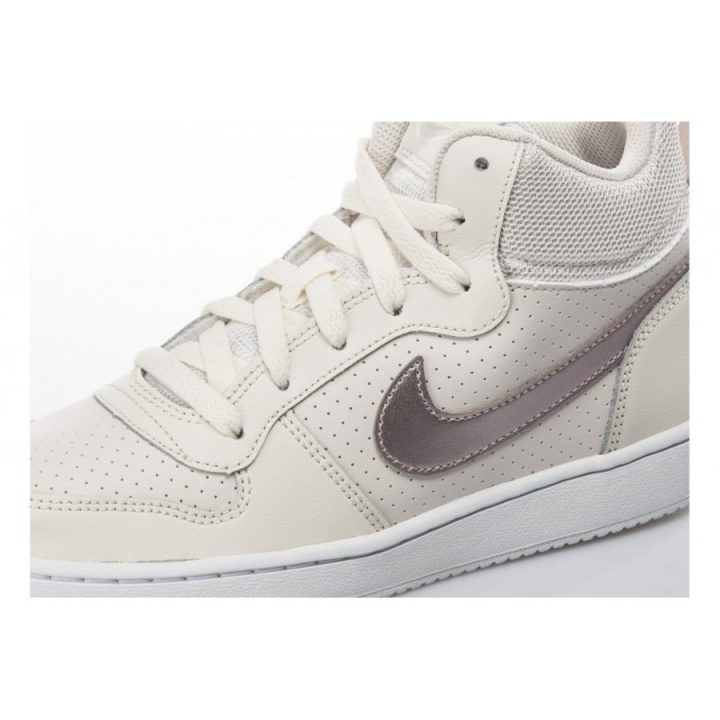 Nike Court Borough MID bézs női utcai cipő