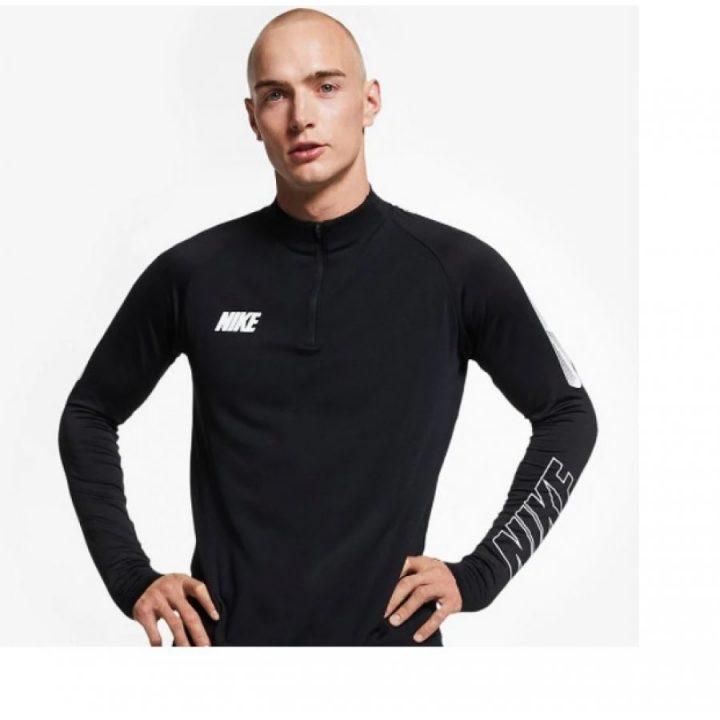 Nike Dry Squad 19 Football fekete férfi pulóver