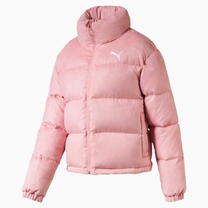 Puma 480 Style Down rózsaszín női kabát